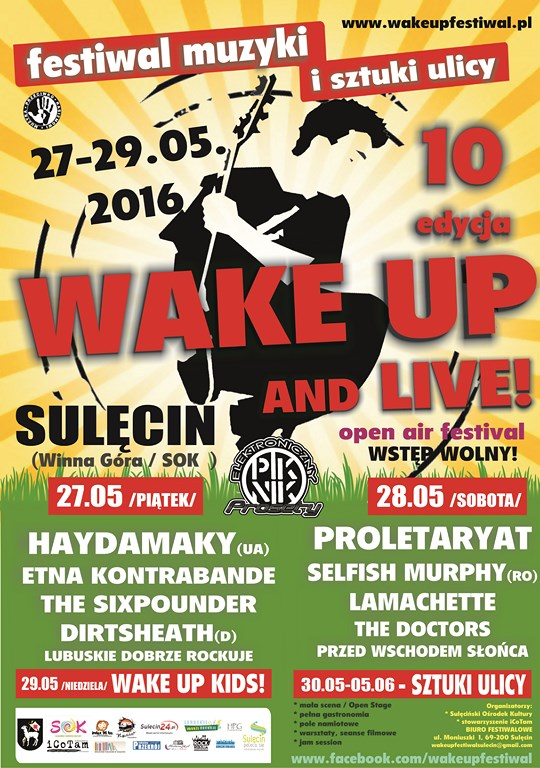 Wake Up plakat mały