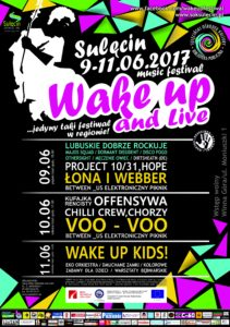 PLAKAT WAKE UP and LIVE 2017[22492]