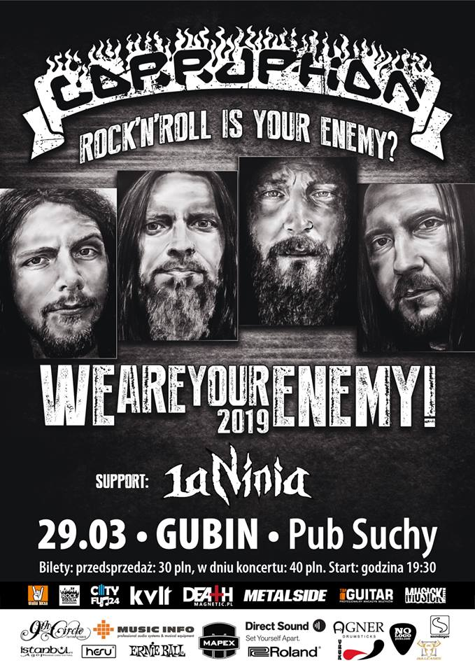 Corruption – Rock'n'Roll is Your Enemy? We are Your Enemy! 29.03