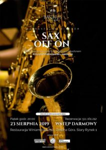 Sax Off On Bachus 2019.08.23 SMALL