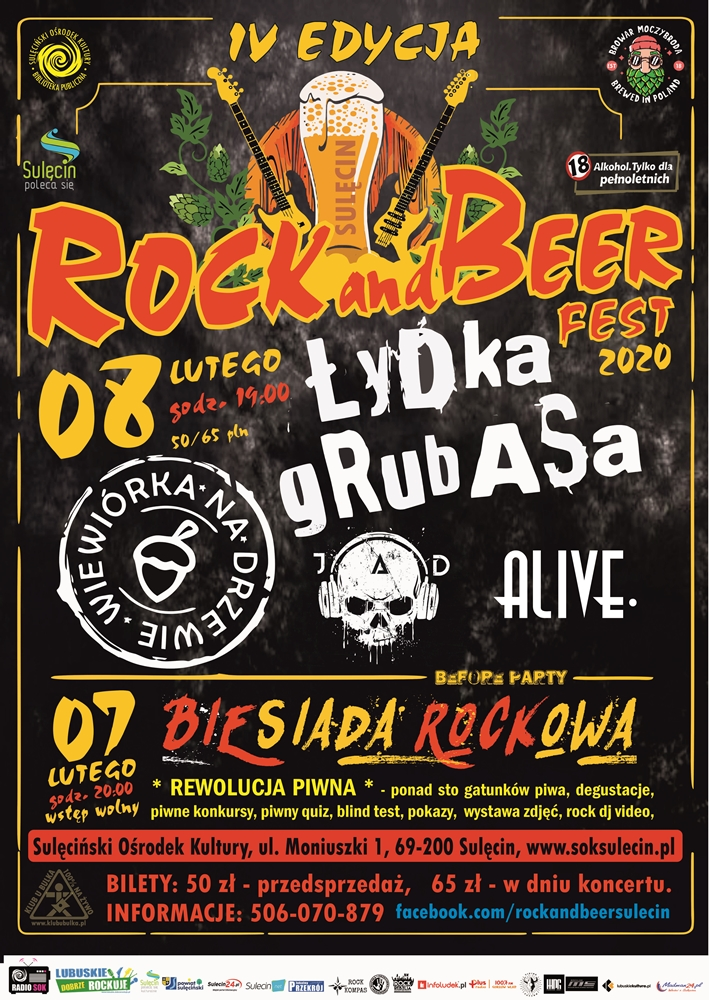 Rock and Beer Fest 2020 – IV edycja